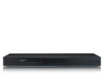 LG 4K UHD Blu-Ray Player - UBK90 product photo