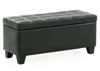 Storage Bench - Black product photo