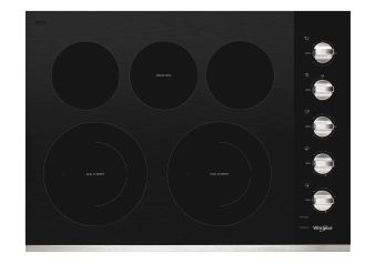 "Whirlpool Radiant Cooktop 30"" - WCE77US0HS product photo"