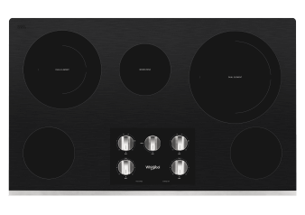"Whirlpool Radiant Cooktop 36"" - WCE77US6HS product photo"