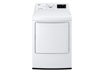 LG 7.3cu.ft Dryer - DLE7100W product photo