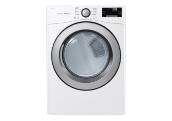 LG 7.4cu.ft Dryer - DLE3500W product photo
