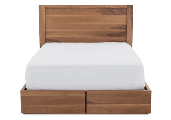 Bed with Drawers - Queen Size product photo