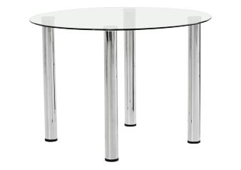 Round Table with Glass Top product photo