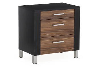 Nightstand - Black and Brown product photo