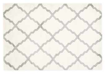 "61X89"" Rug - Ivory and Grey product photo"