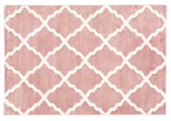 "61X89"" Rug - Pink and Ivory product photo"