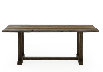 Rectangular Wood Table - Brown product photo
