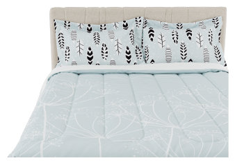 Comforter Set - Queen Size - Green product photo
