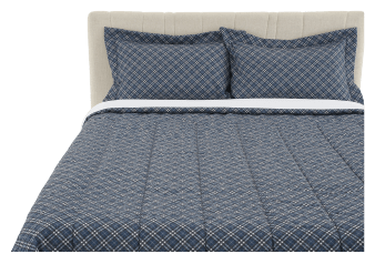Comforter Set - Queen Size - Blue product photo