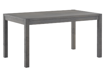 Wood Rectangular Table - Grey product photo