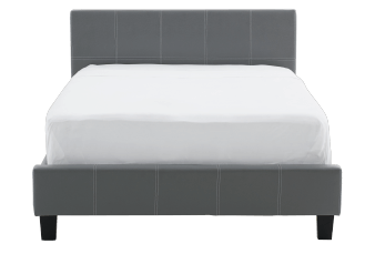 Bed - Grey - Queen Size product photo