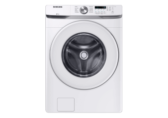 Samsung 5.2 cu.ft Front Load Washer - WF45T6000AWA5 product photo