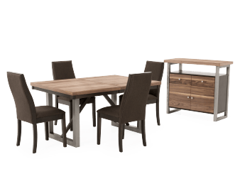 Dining Room Set - Brown product photo