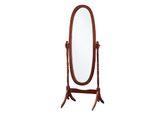Wood Mirror - Brown product photo