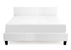 Bed - White - King Size product photo