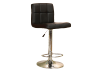 Adjustable Bar Stool - Black product photo Front View S