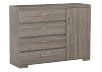 4 Drawer Dresser - Brown Grey product photo