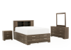Bedroom Set - Grey - Queen Size product photo