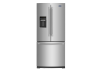 Maytag 19.6cu.ft French Door Refrigerator with Water and Ice Dispenser - MFW2055FRZ product photo
