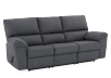 Elran Fabric Reclining Sofa - Grey product photo other01 S
