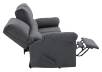 Elran Fabric Reclining Sofa - Grey product photo other05 S