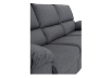 Elran Fabric Reclining Sofa - Grey product photo other06 S