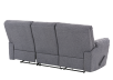 Elran Fabric Reclining Sofa - Grey product photo other08 S