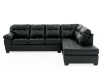 Sectional Sofa - Black product photo