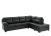 Sectional Sofa - Black product photo other01 S