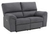 Elran Fabric Reclining Motorized Loveseat - Grey product photo other01 S