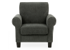Fabric Armchair - Grey product photo