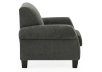 Fabric Armchair - Grey product photo other02 S