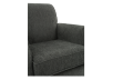 Fabric Armchair - Grey product photo other03 S