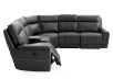 Reclining Motorized Sectional Sofa - Grey product photo other03 S