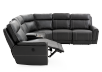 Reclining Motorized Sectional Sofa - Grey product photo other04 S