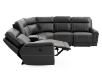 Reclining Motorized Sectional Sofa - Grey product photo other05 S