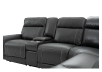 Reclining Motorized Sectional Sofa - Grey product photo other06 S