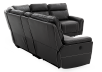 Reclining Motorized Sectional Sofa - Grey product photo other08 S