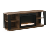 Electric Fireplace - Brown product photo