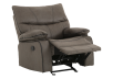 Fabric Rocking Recliner - Grey product photo other01 S