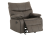 Fabric Rocking Recliner - Grey product photo other02 S