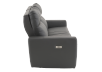 Elran Reclining Electric Sofa with Genuine Leather Seats and Adjustable Headrests - Dark Grey product photo other02 S