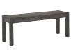 Wood Bench - Grey product photo