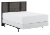 Bedroom Set - Black and Brown Grey - Queen Size product photo other01 S