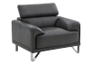 Armchair with Adjustable Headrest  - Dark Grey product photo other02 S