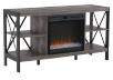 Electric Fireplace - Grey product photo
