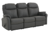 Fabric Reclining Sofa - Dark Grey product photo other01 S