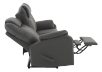 Fabric Reclining Sofa - Dark Grey product photo other05 S