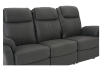 Fabric Reclining Sofa - Dark Grey product photo other06 S